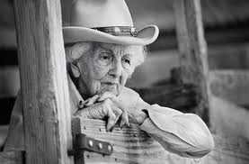 old cowgirl