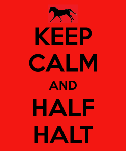 halfhalt