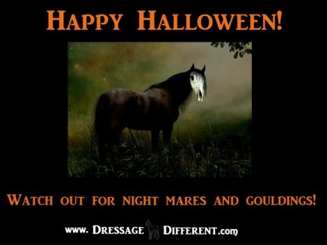Happy Halloween! Beware of things that go bump in the ring ...