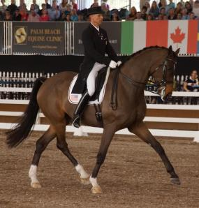 Steffen Peters is well known for his supple influence on his equine partners.