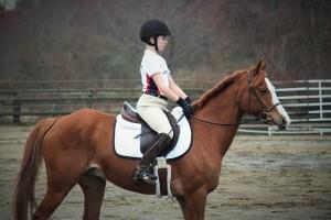 girl riding horse 3
